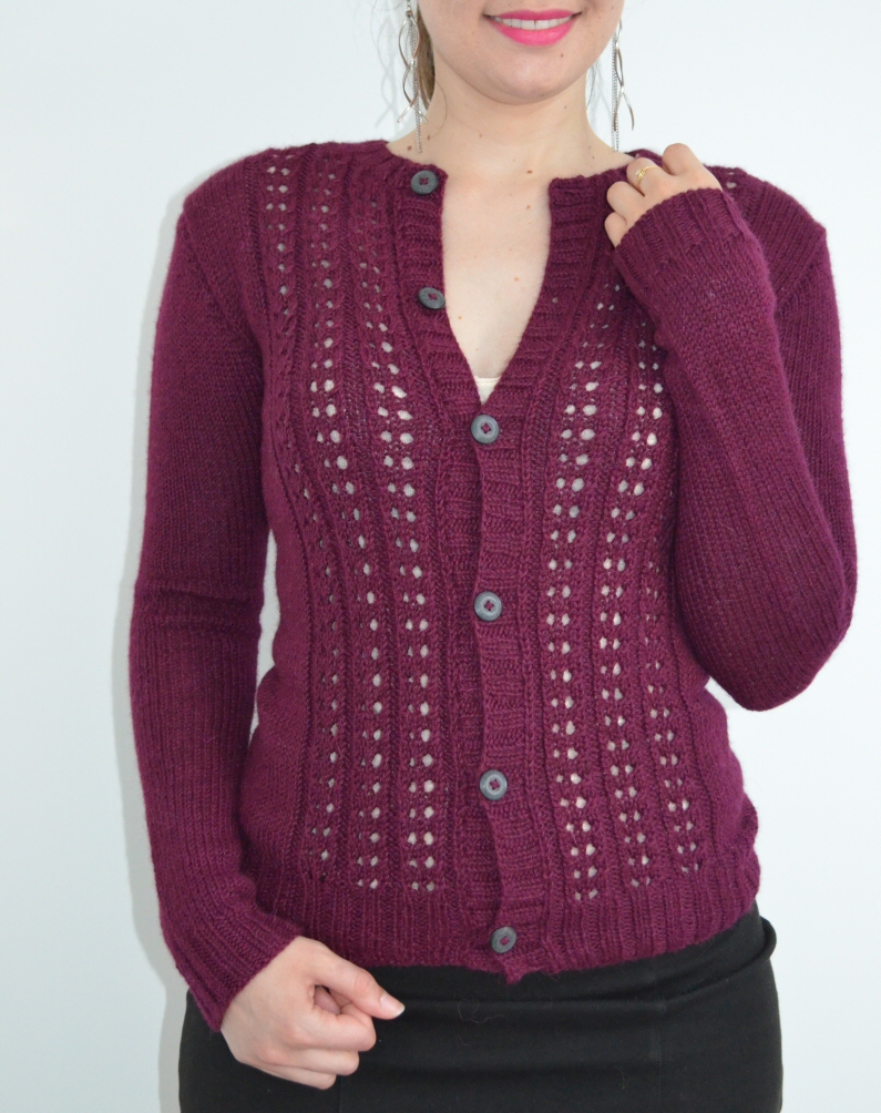 Lady Marple tricoté avec la The Baby Wool de We Are Knitters