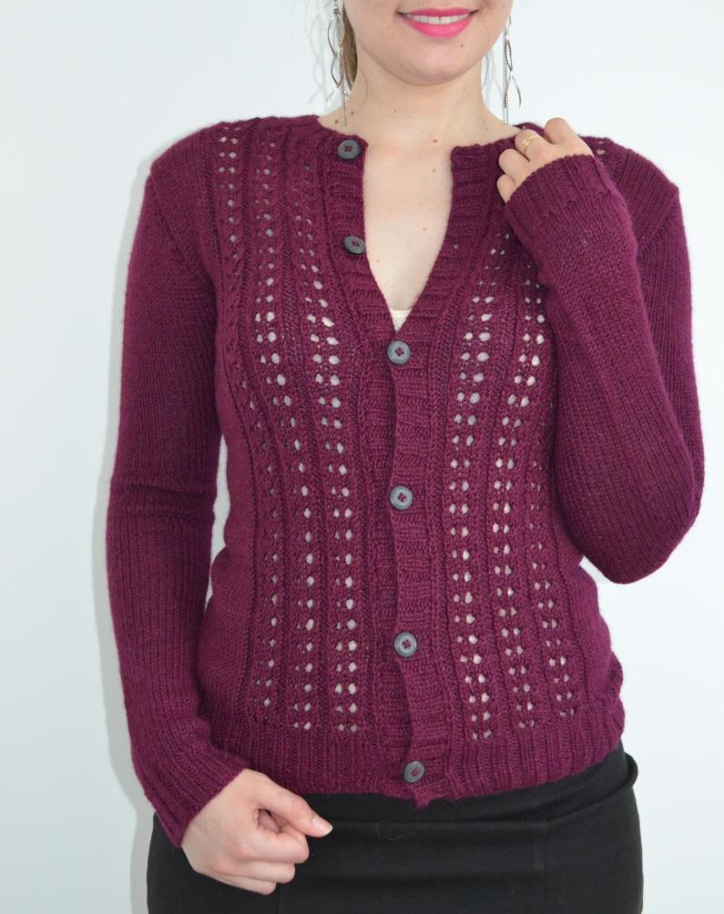 Lady Marple tricoté avec la The Baby Wool de We Are Knitters