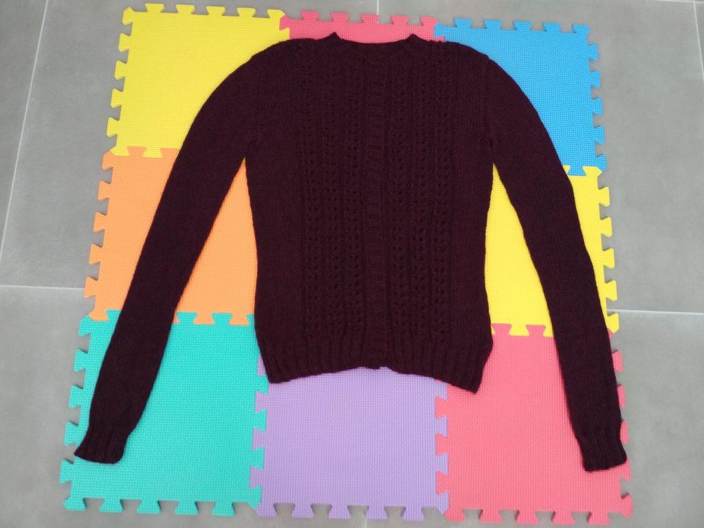 Blocage tricot - etape 4