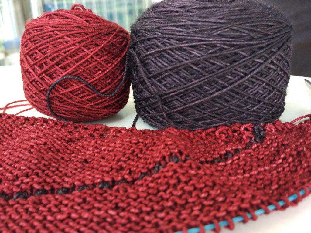 tricoter un châles